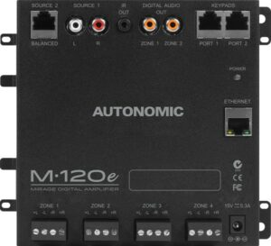 Autonomic Mirage M-120e Four Zone Digital Amplifier