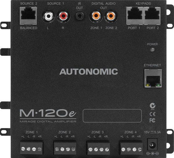 Autonomic Mirage M-120e Four Zone Digital Amplifier