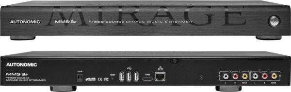 Autonomic MMS-3e Three Source Mirage Music Server