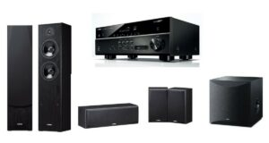 Yamaha 5.1 Channel System with RX-V483 AV Receiver