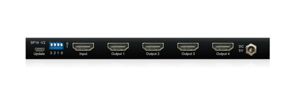 Blustream SP14-V2 4-Way 4K HDMI 2.0 Splitter