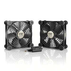 AC Infinity Multifan S7 Quiet USB Cooling Fan Dual 120mm
