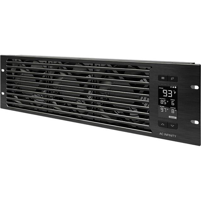 Ac Infinity Cloudplate T9 Pro Quiet Rack Cooling Fan System