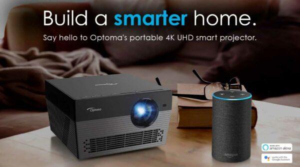 Rapallo | Optoma UHL55 smart projector