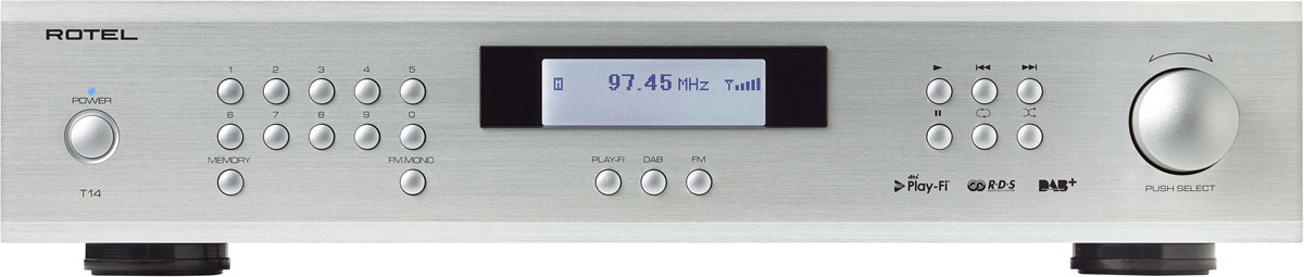 Rotel T14 Digital Gateway And Tuner Rapallo New Zealand