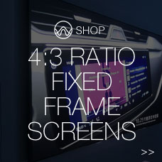 4:3 ratio fixed frame screens