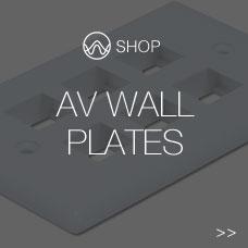 AV Wall Plate