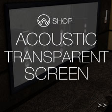 Acoustic Transparent Screen