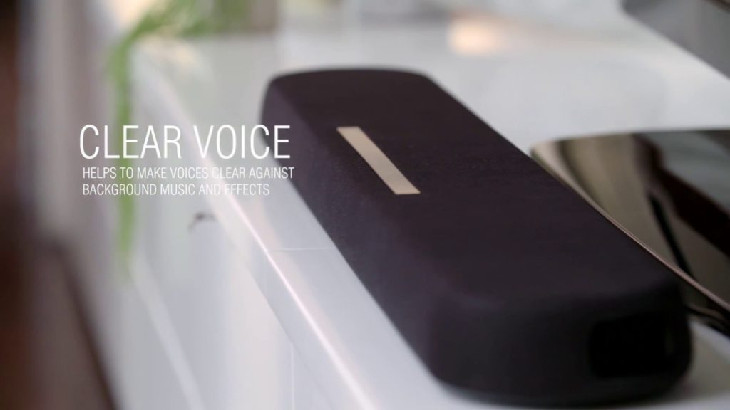 Rapallo | Yamaha's Clear Voice function