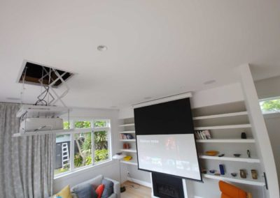 Hidden Home Theatre System