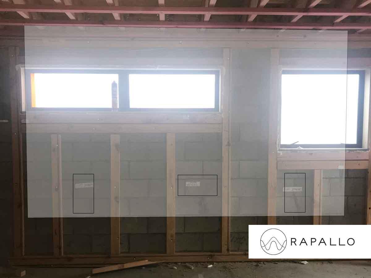 Rapallo | Project Pre Wire - Home theatre Screen Setup