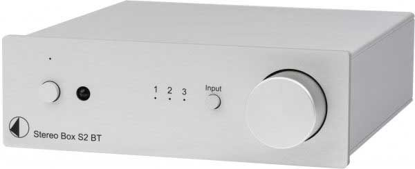 Rapallo | Pro-Ject Stereo Box S2 BT Integrated Amplifier with Bluetooth