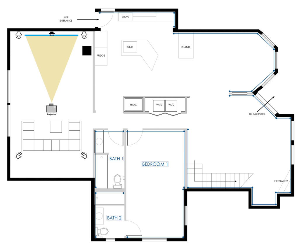 Rapallo | 5.1 Floorplan