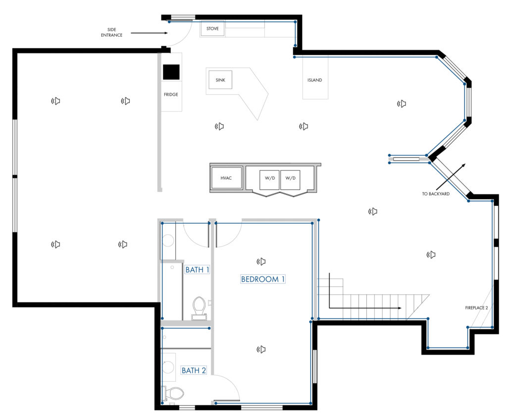 Rapallo | Multiroom Floor Plan