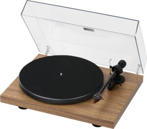 Rapallo   Pro-ject   Debut Carbon Turntable in Walnut with Ortofon 2M Red Cartridge