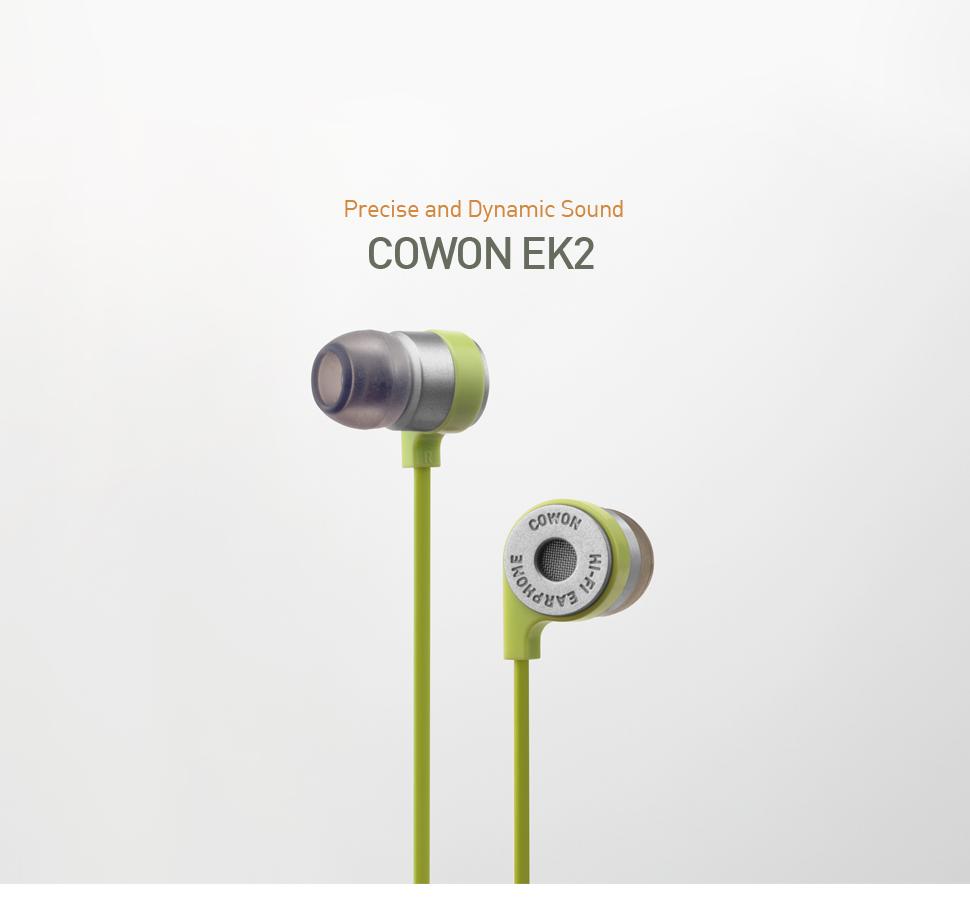 Rapallo   Cowon EK2 HiFi Earphones