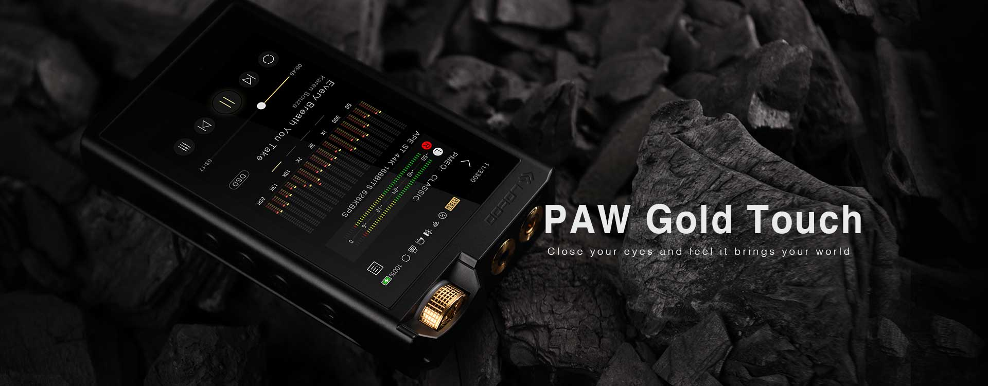 Rapallo   Lotoo PAW Gold Touch Digital Audio Player