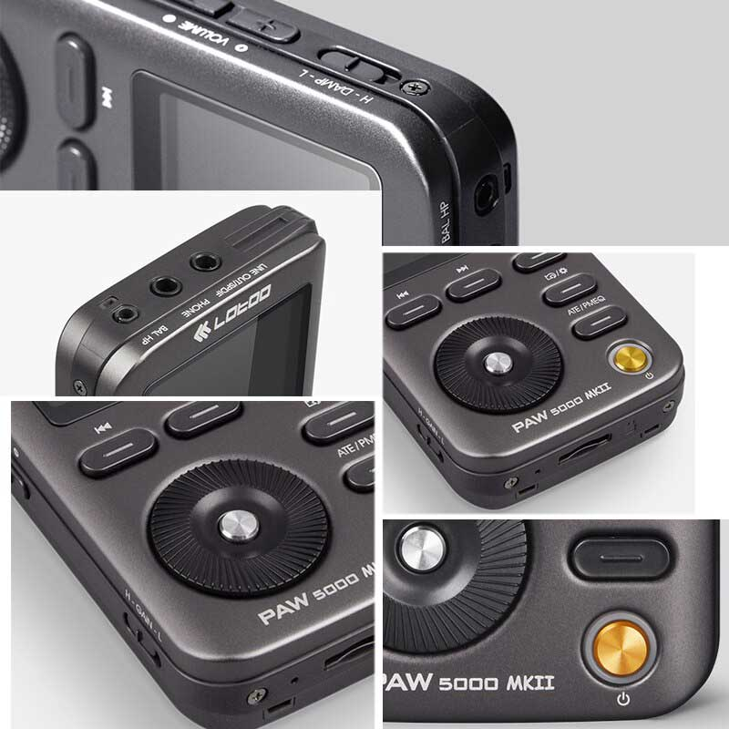 Rapallo   Lotoo PAW 5000 MK2 Digital Audio Player