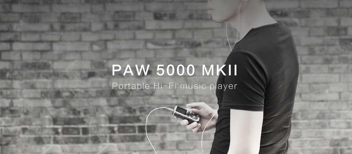 Rapalo   Lotoo PAW 5000 MK2 Digital Audio Player