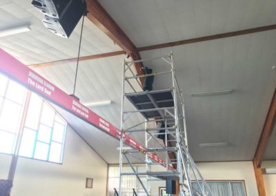 Church | Screen Install & Projector Setup