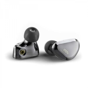 Rapallo | IBASSO IT01S In-Ear Monitor Dynamic Driver Nanotube Diaphragm Ø10mm 16 Ohm Gray