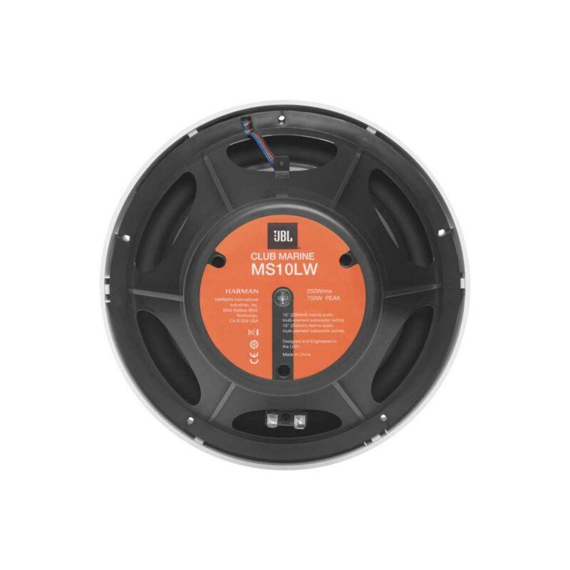 "Rapall0 | JBL Club Marine MS10L 10"" (250mm) Marine Subwoofer with RGB lighting"
