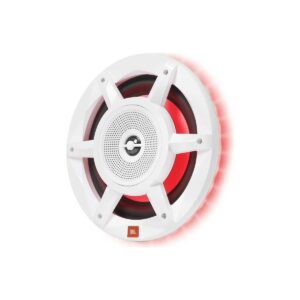 "Rapallo | JBL Stadium Series 8"" 3-Way Marine Speakers with built-in RGB LED lights"