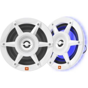 "Rapallo | JBL Stadium Series 6-1/2"" 2-way Marine Speakers with RGB LED lighting"