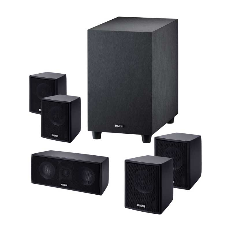 Rapallo   Magnat Cinemotion 510 Compact 5.1 Home Cinema System With Active Subwoofer