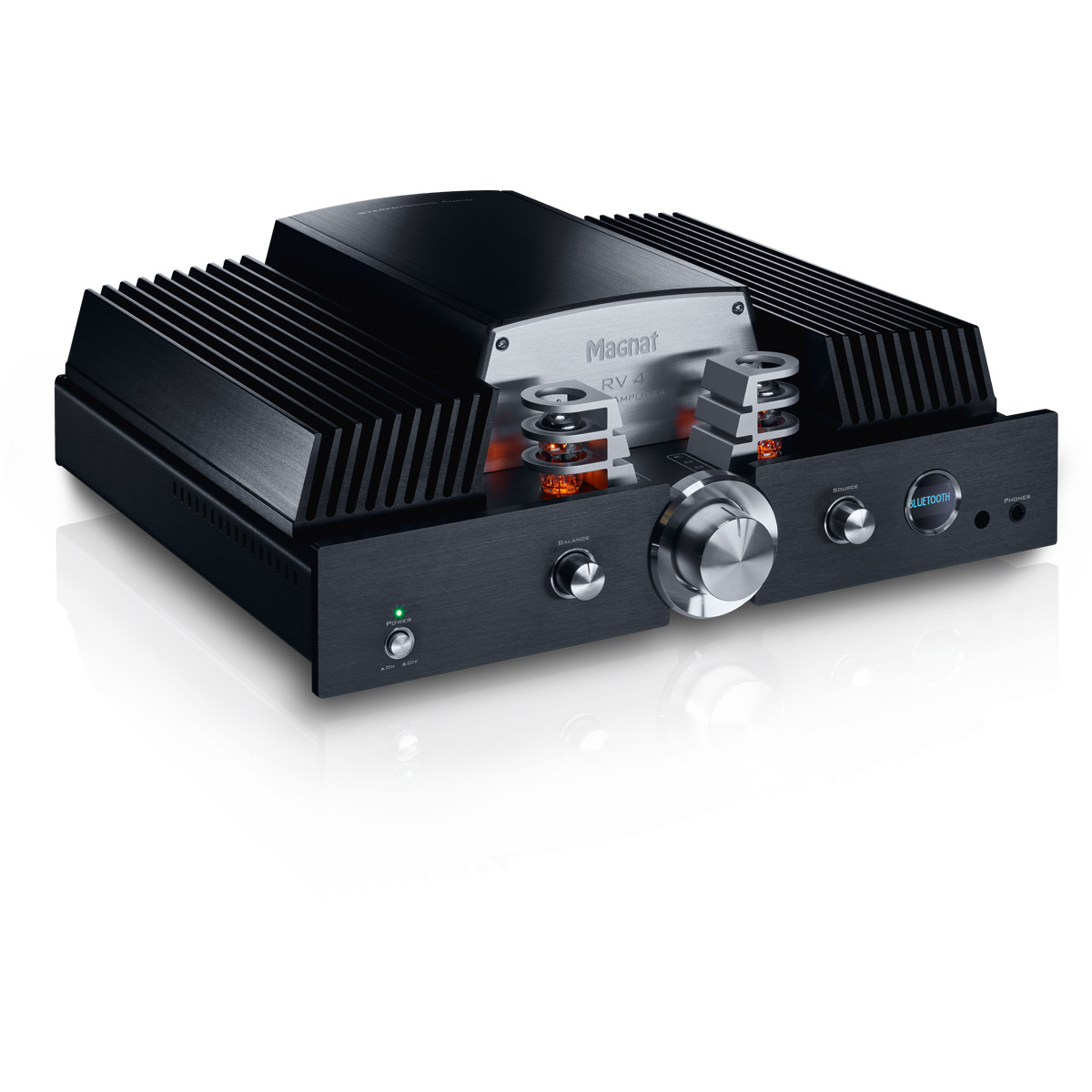 Rapallo   Magnat RV 4 High-End Hybrid Integrated Amplifier With Valve Pre-Stage And Bluetooth APTX