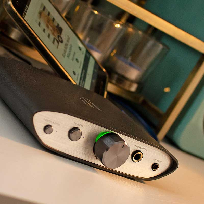 Rapallo | iFi Audio Zen DAC V2 Hi-Res USB DAC/Headphone Amp