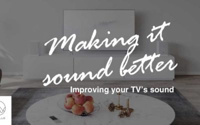 Improving Your TV's Sound For Binge Watching At Home