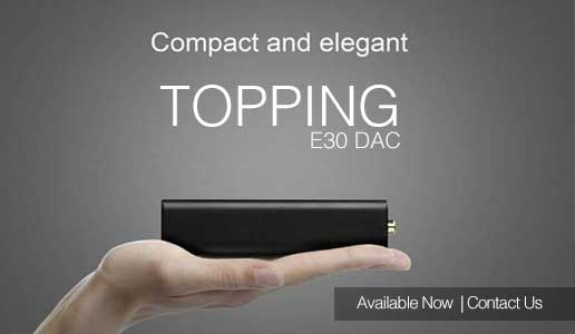 Rapallo | Topping E30 USB DAC