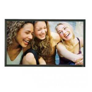 Rapallo | Grandview 16:9 Flocked Fixed Frame Screen
