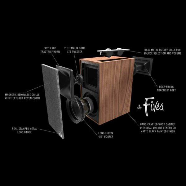 Rapallo | Klipsch The Fives Powered Speakers