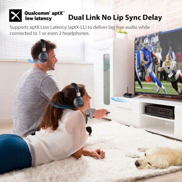 Rapallo | Avantree Oasis Plus Bluetooth 5.0 aptX HD Long Range Transmitter Receiver