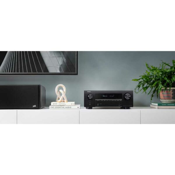 Rapallo | Denon AVC-X3700H​ 9.2ch 8K AV Amplifier with 3D Audio, HEOS Built-in and Voice Control