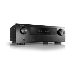 Rapallo | Denon AVR-X250BT 5.1 Ch. 4K Ultra HD AV Receiver with Bluetooth