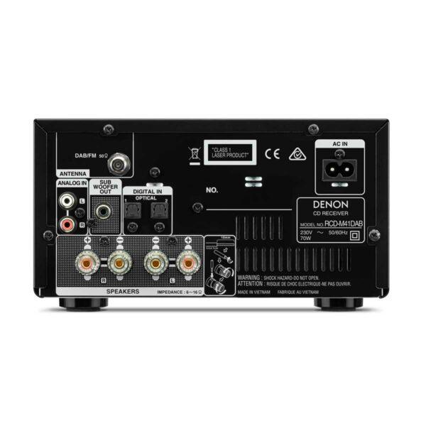 Rapallo | Denon D-M41DAB HiFi System with CD, Bluetooth and FM/DAB/DAB+ Tuner