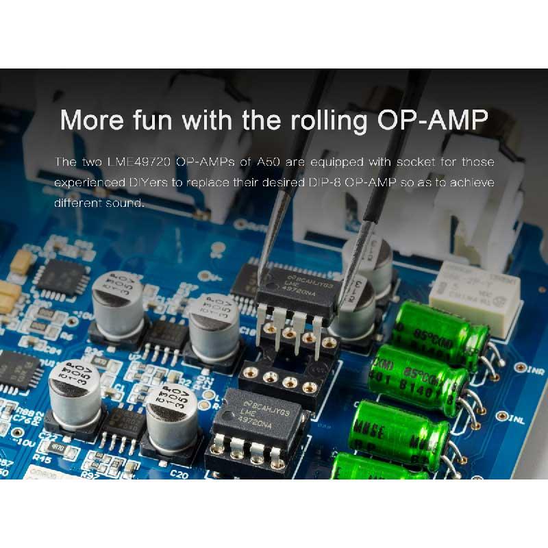 Rapallo | TOPPING A50 Desktop Headphone Amplifier