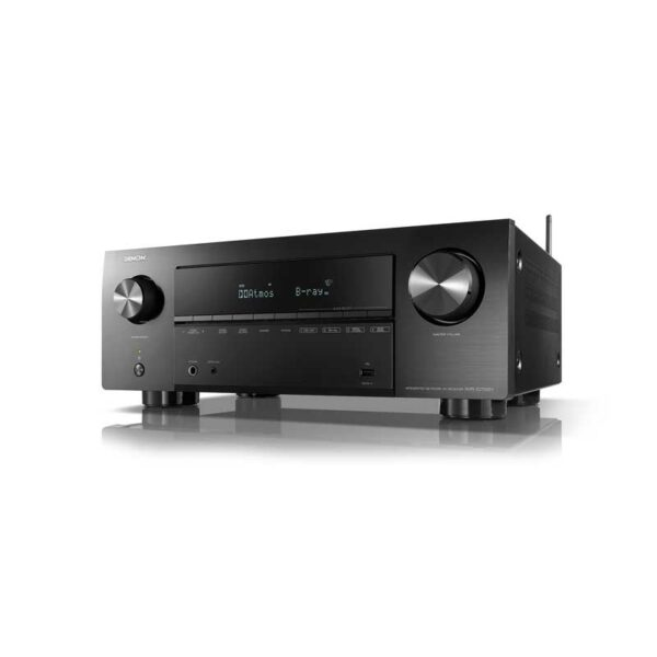 Rapallo | Denon AVR-X2700H 7.2ch 8K AV Receiver with 3D Audio, Voice Control and HEOS Built-in