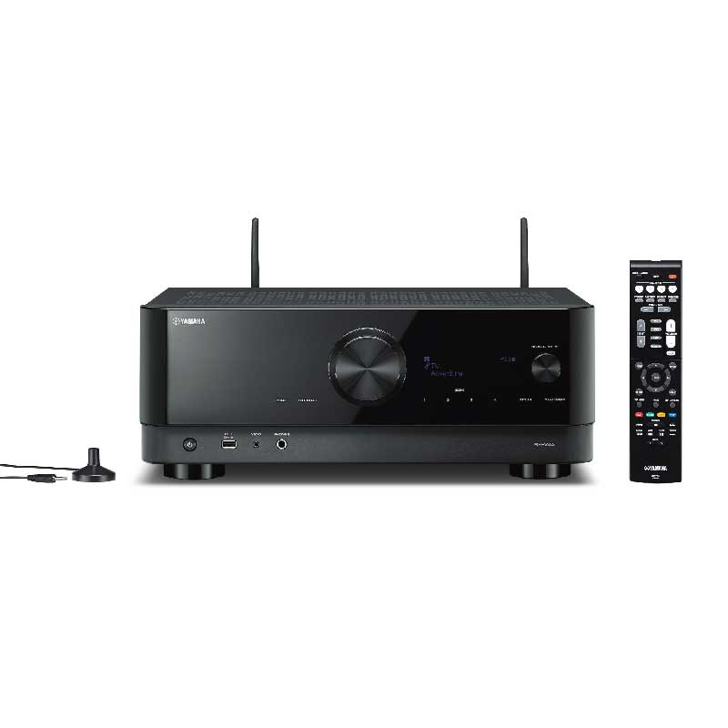 Rapallo   Yamaha RX-V4A 5.2-Channel AV Receiver with 8K HDMI and MusicCast