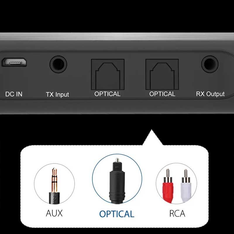 Rapallo   Avantree TC419 Bluetooth 5.0 Long Range Transmitter Receiver