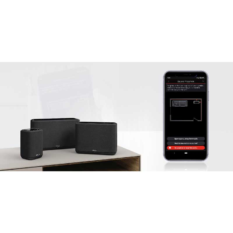 Rapallo | Denon Home 150 Wireless Powered speaker with HEOS Built-in, Bluetooth®, and Apple AirPlay® 2