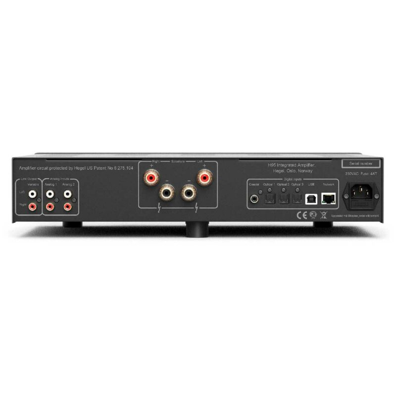 Rapallo   Hegel H95 Integrated Amplifier