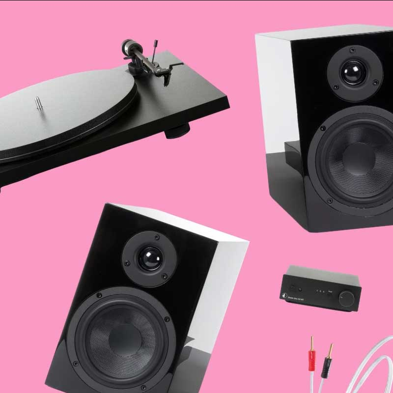 Rapallo | Pro-Ject All-In-One Compact HiFi System (Black)
