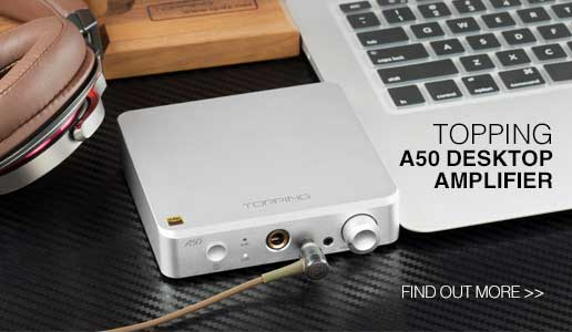 Rapallo | Topping A50 Desktop Amplifier