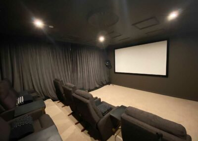 A Fabulous Home Theatre Space