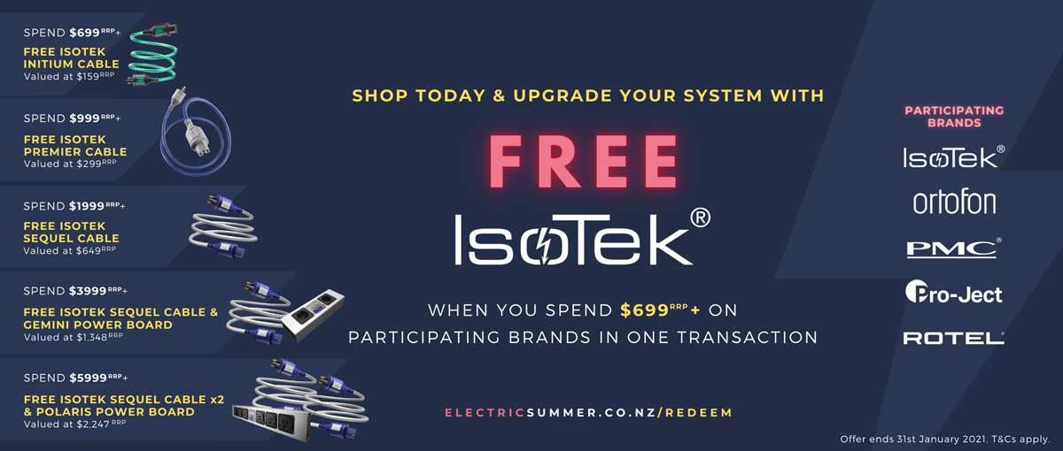 Rapallo & Isotek | The NZ-Electric-Summer