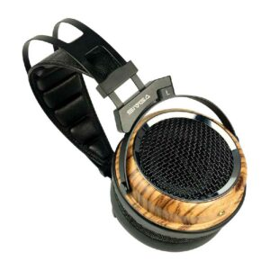 Rapallo | SIVGA Phoenix Over the Ear Open Back Zebra Wood Dynamic/Moving-Coil Driver Headphones